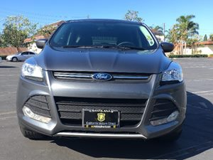 2014 Ford Escape SE Carfax 1-Owner - No AccidentsDamage Reported  Sterling Gray Metallic  We