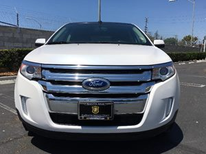 2013 Ford Edge SEL Carfax 1-Owner - No AccidentsDamage Reported  White  We are not responsibl