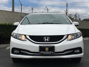 2014 Honda Civic Sedan EX-L Carfax 1-Owner - No AccidentsDamage Reported  White Orchid Pearl