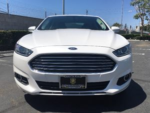 2016 Ford Fusion SE Carfax 1-Owner - No AccidentsDamage Reported Engine 15L Ecoboost White