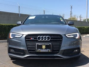 2014 Audi S5 30T quattro Premium Carfax 1-Owner - No AccidentsDamage Reported  Monsoon Gray M