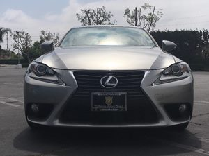 2014 Lexus IS 250 Base Carfax 1-Owner  Silver  We are not responsible for typographical errors