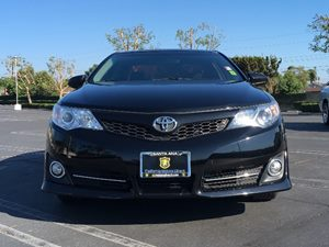 2014 Toyota Camry SE Carfax 1-Owner  Attitude Black Metallic  We are not responsible for typog