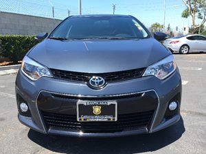 2015 Toyota Corolla S Carfax 1-Owner  Gray  We are not responsible for typographical errors A