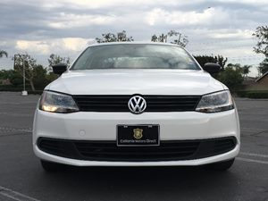 2014 Volkswagen Jetta Sedan S Carfax 1-Owner  White  We are not responsible for typographical