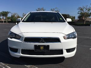 2013 Mitsubishi Lancer ES Carfax 1-Owner - No AccidentsDamage Reported  Wicked White Metallic
