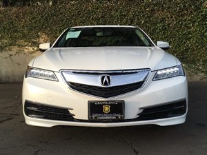 2015 Acura TLX Base Carfax 1-Owner  Bellanova White Pearl  We are not responsible for typograp