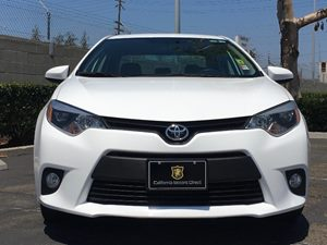 2014 Toyota Corolla LE Plus Carfax 1-Owner - No AccidentsDamage Reported  Super White  We are