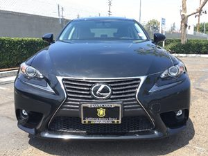 2015 Lexus IS 250 Base Carfax 1-Owner - No AccidentsDamage Reported  Black  We are not respon