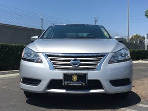 2015 Nissan Sentra SV Carfax 1-Owner - No AccidentsDamage Reported  Brilliant Silver  We are
