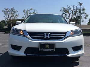 2014 Honda Accord Sedan LX Carfax 1-Owner - No AccidentsDamage Reported  White Orchid Pearl