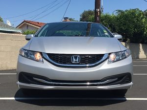 2014 Honda Civic Sedan LX Carfax 1-Owner  Alabaster Silver Metallic  We are not responsible fo