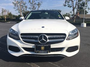 2015 MERCEDES C 300 C 300 4MATIC Carfax 1-Owner  White  We are not responsible for typographic
