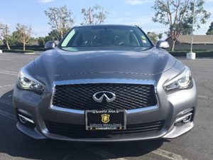 2014 INFINITI Q50 Premium Carfax 1-Owner  Gray  We are not responsible for typographical error