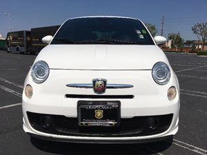 2015 FIAT 500 Abarth Carfax 1-Owner - No AccidentsDamage Reported  Bianco White  We are not