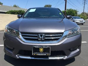 2014 Honda Accord Sedan Sport Carfax 1-Owner - No AccidentsDamage Reported  Gray  We are not