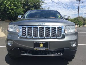 2011 Jeep Grand Cherokee Overland Summit Carfax 1-Owner - No AccidentsDamage Reported 25R Overla