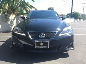 2012 Lexus IS 250 Base Carfax Report - No AccidentsDamage Reported  Black  We are not respons