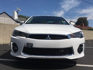 2017 Mitsubishi Lancer ES Carfax 1-Owner  Diamond White Pearl  We are not responsible for typo