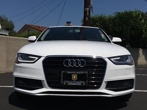 2014 Audi A4 20T Premium Carfax 1-Owner  White  We are not responsible for typographical erro