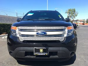 2015 Ford Explorer Base Carfax Report - No AccidentsDamage Reported  Tuxedo Black Metallic  W