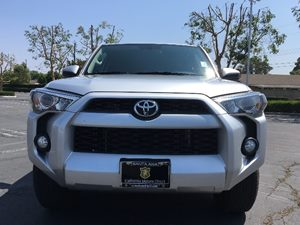 2015 Toyota 4Runner SR5 Carfax Report - No AccidentsDamage Reported  Classic Silver Metallic