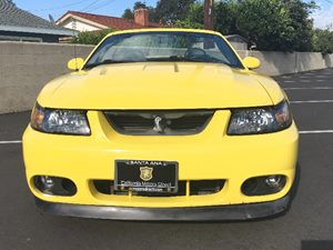 2003 Ford Mustang Base Carfax Report  Zinc Yellow  We are not responsible for typographical er
