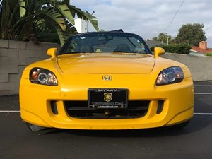 2007 Honda S2000 Base Carfax Report  Rio Yellow Pearl  We are not responsible for typographica