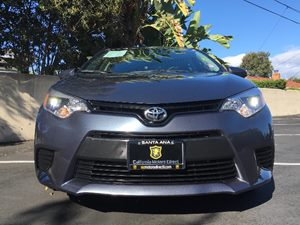 2016 Toyota Corolla LE Carfax Report  Gray  We are not responsible for typographical errors A