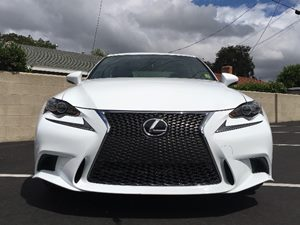 2015 Lexus IS 250 Base Carfax 1-Owner  Ultra White  We are not responsible for typographical e