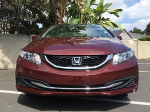 2014 Honda Civic Sedan EX Carfax 1-Owner - No AccidentsDamage Reported  BURGENDY  We are not