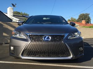 2015 Lexus CT 200h Fsport Carfax 1-Owner - No AccidentsDamage Reported  Gray See ourentire in