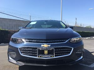 2016 Chevrolet Malibu LT Carfax Report - No AccidentsDamage Reported  Blue Velvet Metallic  W
