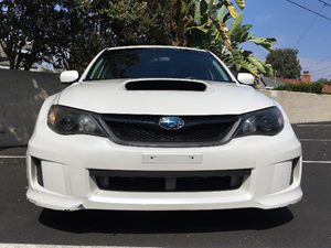 2012 Subaru Impreza Sedan WRX WRX Carfax Report - No AccidentsDamage Reported  Satin White Pea