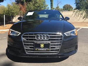 2015 Audi A3 18T Premium Plus Carfax 1-Owner  Black  We are not responsible for typographical