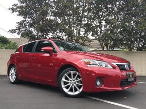 2012 Lexus CT 200h Base Carfax Report  Matador Red Mica  We are not responsible for typographi