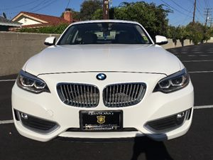 2014 BMW 2 Series 228i Carfax 1-Owner - No AccidentsDamage Reported  White  We are not respon