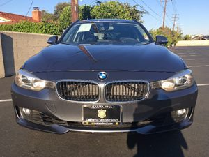 2014 BMW 3 Series 328i xDrive Carfax 1-Owner - No AccidentsDamage Reported  Mineral Gray Metal