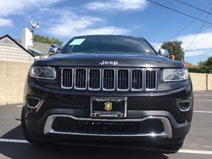 2014 Jeep Grand Cherokee Limited Carfax 1-Owner - No AccidentsDamage Reported  Black  We are