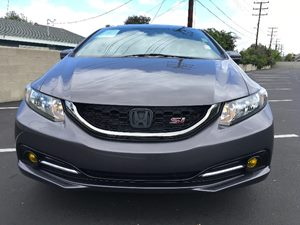 2015 Honda Civic Sedan Si Carfax 1-Owner  Gray  We are not responsible for typographical error