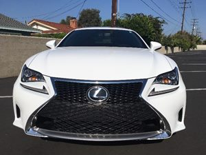 2017 Lexus RC Fsport Carfax 1-Owner - No AccidentsDamage Reported  WHITE  We are not responsi