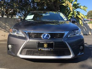 2014 Lexus CT 200h Base Carfax 1-Owner  Gray  We are not responsible for typographical errors