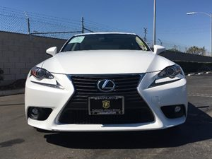 2015 Lexus IS 250 Base Carfax 1-Owner - No AccidentsDamage Reported  Ultra White  We are not