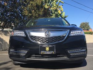 2015 Acura MDX wTech Carfax 1-Owner  Crystal Black Pearl  We are not responsible for typograp