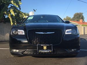 2016 Chrysler 300 S Carfax 1-Owner  Black  We are not responsible for typographical errors Al