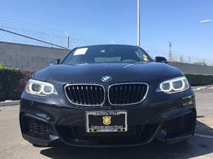 2014 BMW 2 Series 228i Carfax 1-Owner - No AccidentsDamage Reported  Black  We are not respon