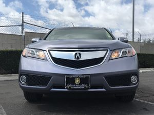 2015 Acura RDX wTech Carfax 1-Owner  Silver  We are not responsible for typographical errors