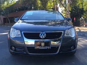 2007 Volkswagen Eos 20T Carfax Report - No AccidentsDamage Reported  Black Uni  We are not r