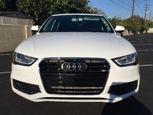 2014 Audi A4 20T Premium Plus Carfax 1-Owner - No AccidentsDamage Reported  White  We are no