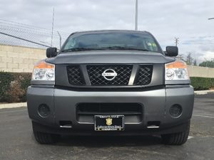 2015 Nissan Titan S Carfax 1-Owner - No AccidentsDamage Reported  Gray  We are not responsibl